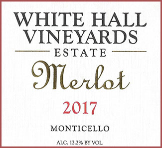 White Hall Vineyards Estate Merlot
