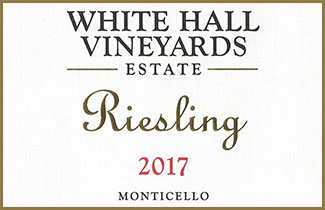 White Hall Vineyards Riesling